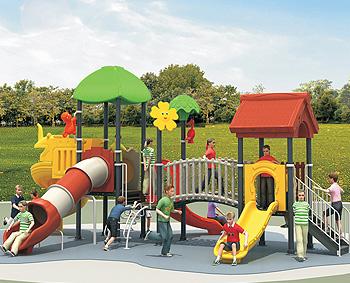 河南焦作墙体彩绘-幼儿园玩具厂-儿童组合滑梯-儿童